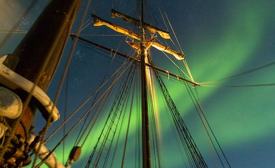 Sails & Northern Lights