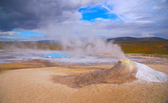 Hveravellir geothermal area and the Golden Circle