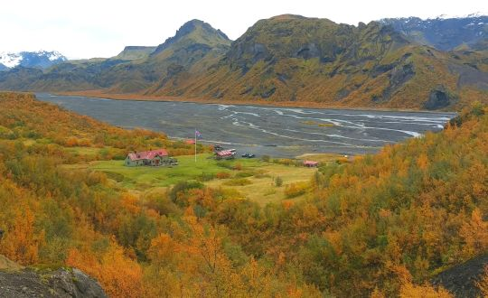 Day 2: The Thorsmork Valley, the Eyjafjallajokull volcano and its glacier