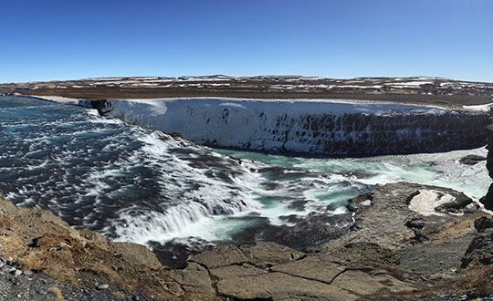 Golden Circle and the Langjokull Glacier