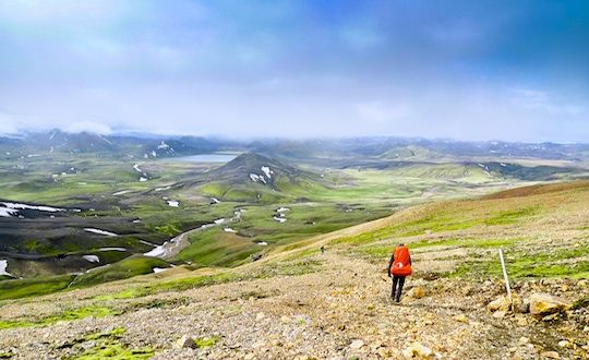 Iceland Hiking tracks