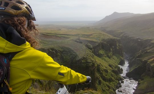 Iceland Mountain Biking
